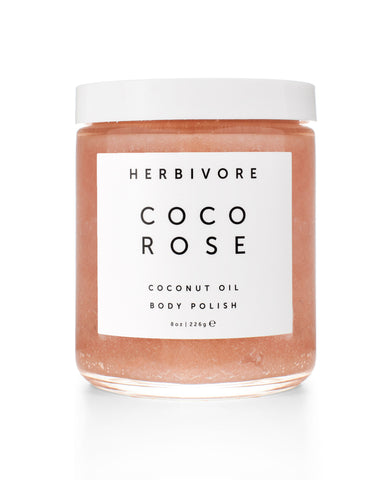 herbivore botanicals coco rose body polish - Fresh Laundry Co.
