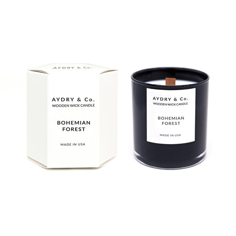Aydry & Co. - Bohemian Forest Wick Candle