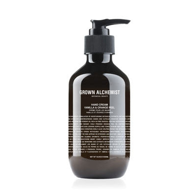grown alchemist hand cream - vanilla & orange peel 300ml - Fresh Laundry Co.
