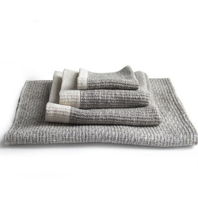 morihata ribbed towel - brown - Fresh Laundry Co. - 1