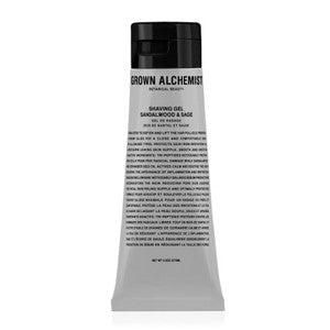 grown alchemist shaving gel sandalwood & sage 75ml - Fresh Laundry Co.