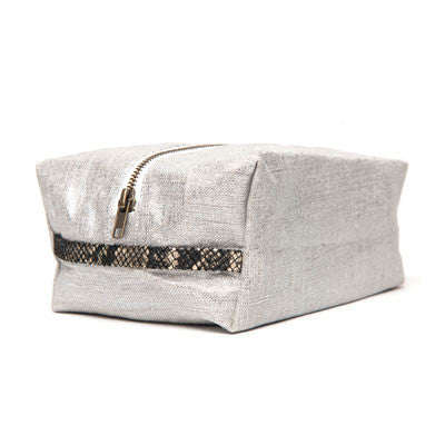 hammocks & high tea signature dopp kit - linen - Fresh Laundry Co. - 2