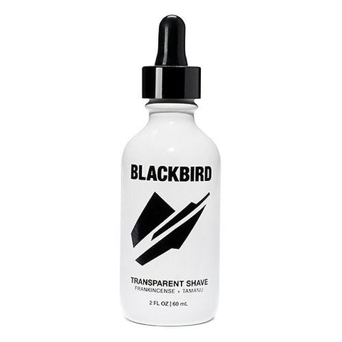 blackbird ballard - transparent shave oil - Fresh Laundry Co.