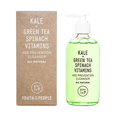 youth to the people - kale + green tea, spinach vitamins age prevention cleanser - Fresh Laundry Co.