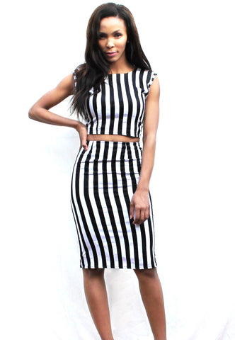A. B&W Stripes - TONI! BY TONI KHUMALO