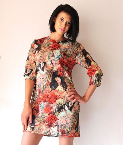 A. Print Shift Dress - TONI! BY TONI KHUMALO