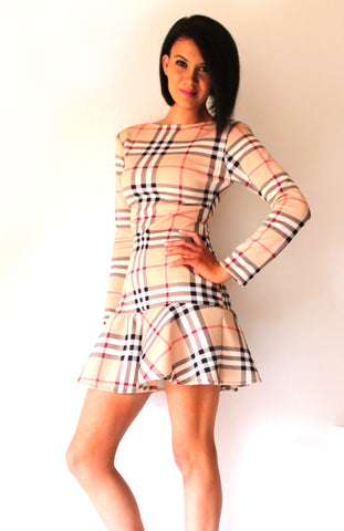 A. Burberry Flirty Print Dress - TONI! BY TONI KHUMALO