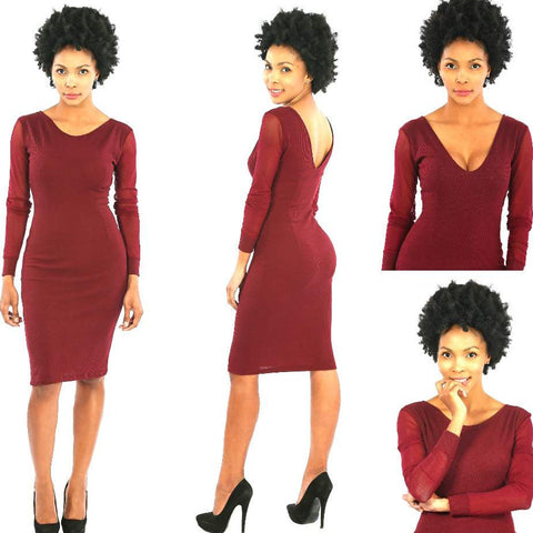 A. Berry Curves Dress - TONI! BY TONI KHUMALO