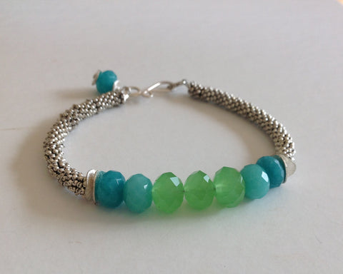Green Blue Mix Bracelet