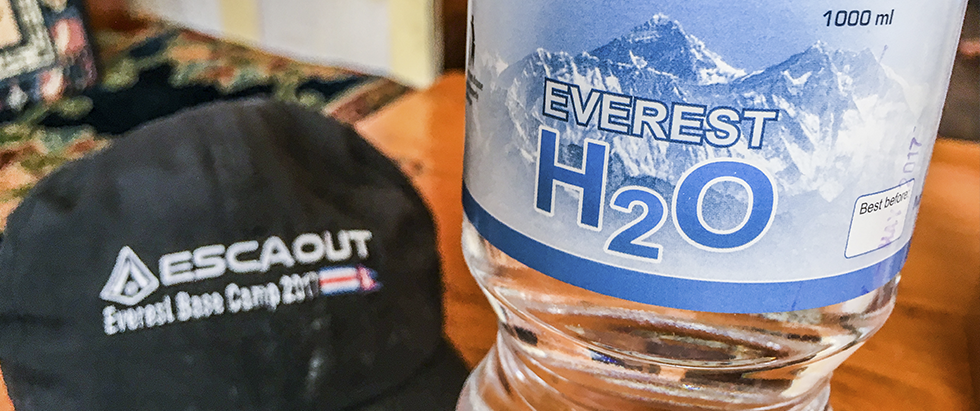 everest base camp water