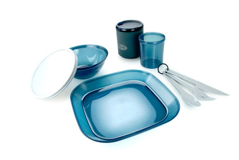 GSI Outdoors Infinity 1 Person Tableset - Blue