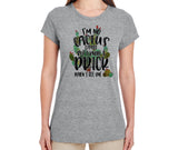 Boho Cactus T Shirt I'm No Cactus Expert But I know a Prick When I See One Flattering Fit Tee