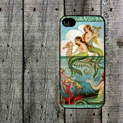 Mermaids with Seahorse Phone Case