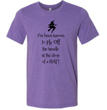 I've Been Known to Fly Off the Handle Witch Unisex T-shirt