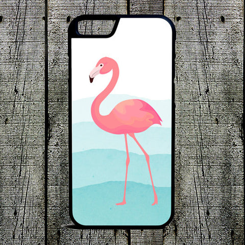 Ombre Waves Pink Flamingo Phone Case