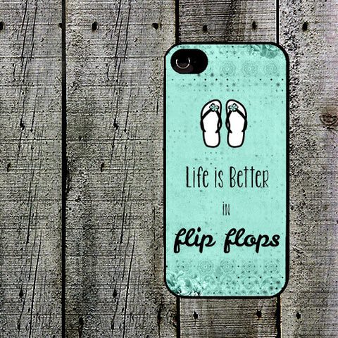 Life is Better in Flip Flops Phone Case