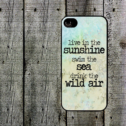 Live in Sunshine Phone Case
