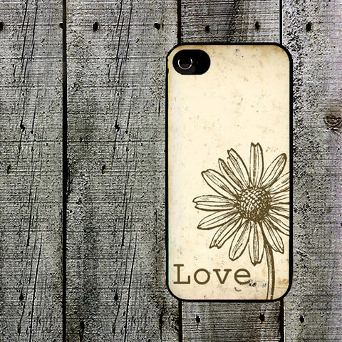Love Daisy Phone Case