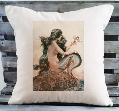 Mermaid with Shoe Pillow