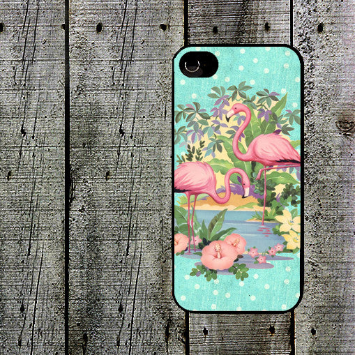 Retro Flamingo Phone Case