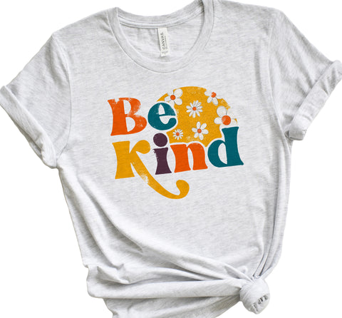 Be Kind Retro T Shirt - Unisex