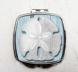 Vintage Sand Dollar Pocket Mirror