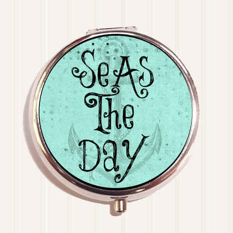 Seas the Day Pill Organizer Box