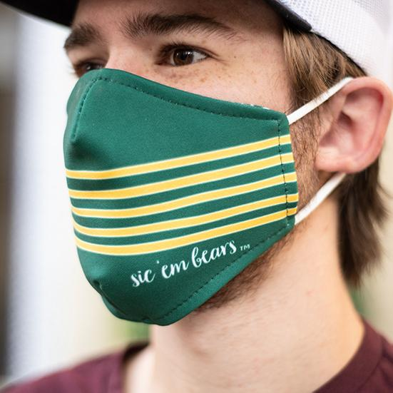 Baylor University BU Licensed Collegiate Face Mask