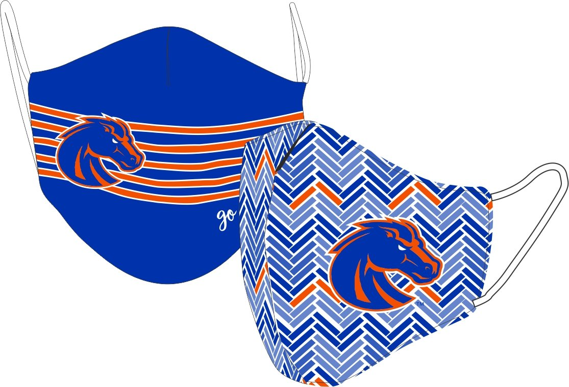 Boise State University BSU Licensed Collegiate Face Mask