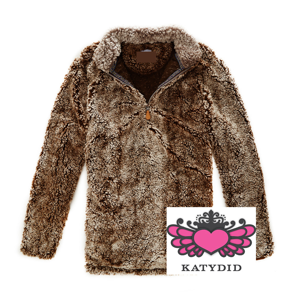 Katydid Wholesale Sherpa PULLOVER with Pockets