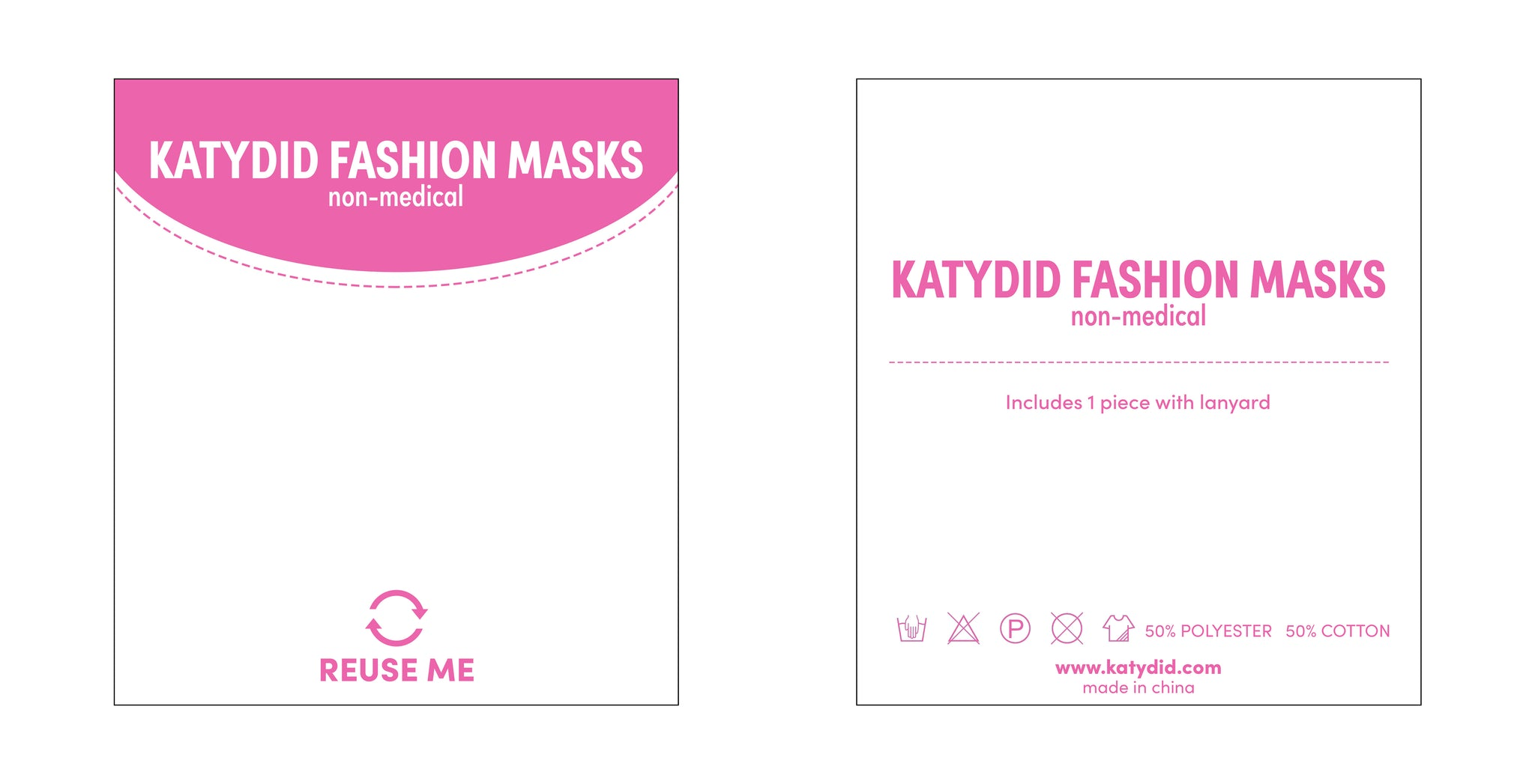 Social Distance Yourself Wholesale Face Masks w/ Laynard
