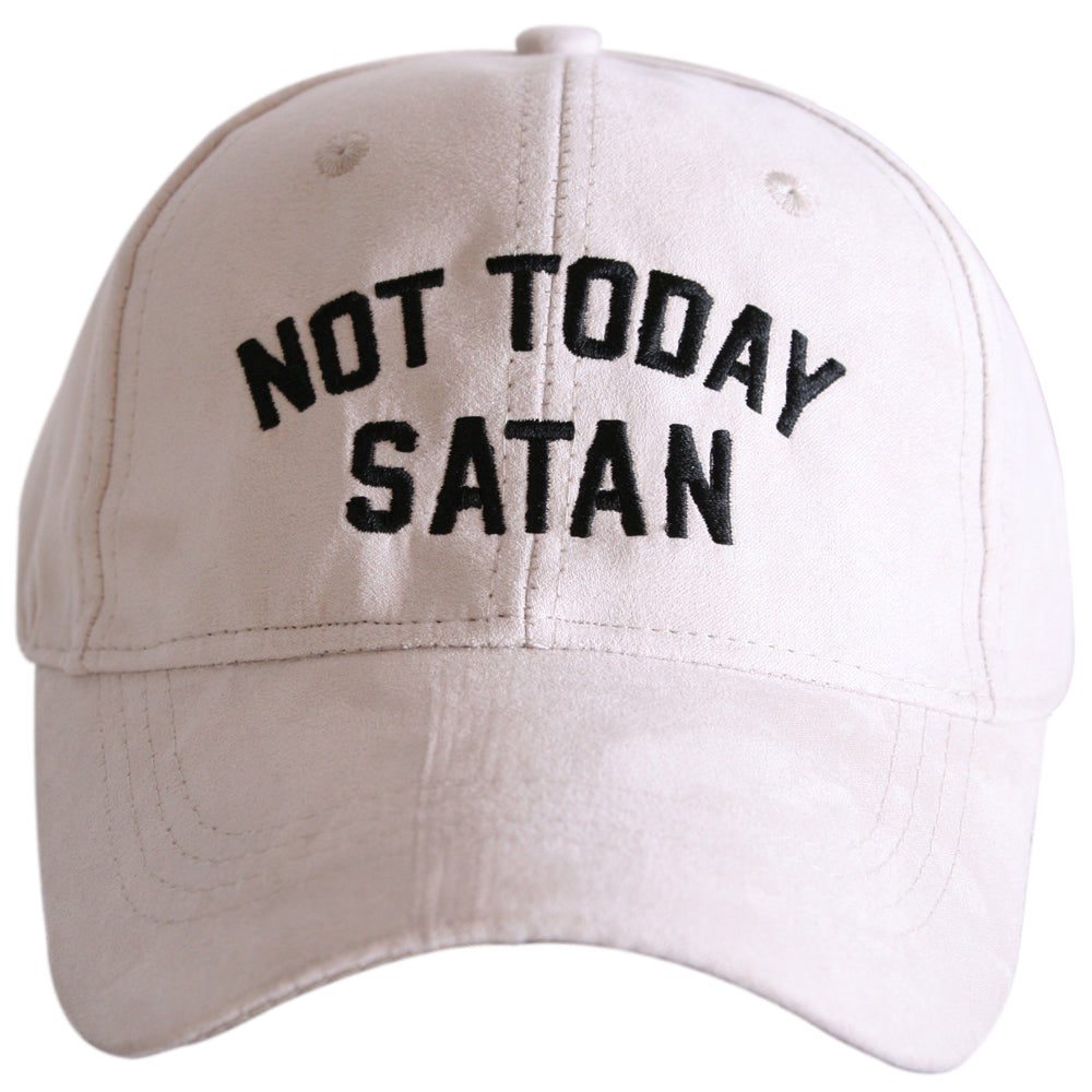 Katydid Not Today Satan ULTRA SUEDE Wholesale Baseball Hats