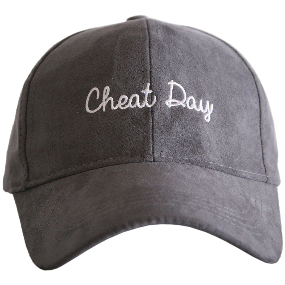 Cheat Day ULTRA SUEDE Wholesale Baseball Hat