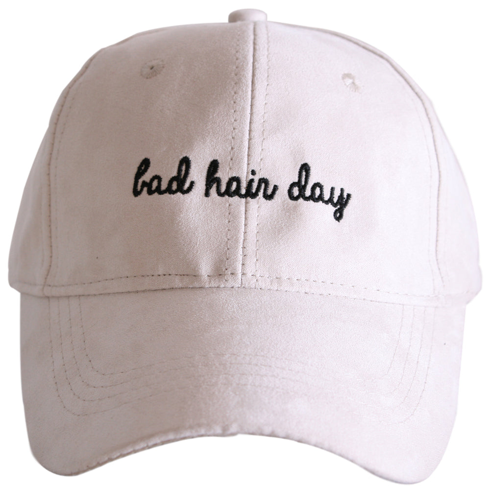 Bad Hair Day ULTRA SUEDE Wholesale Baseball Hats