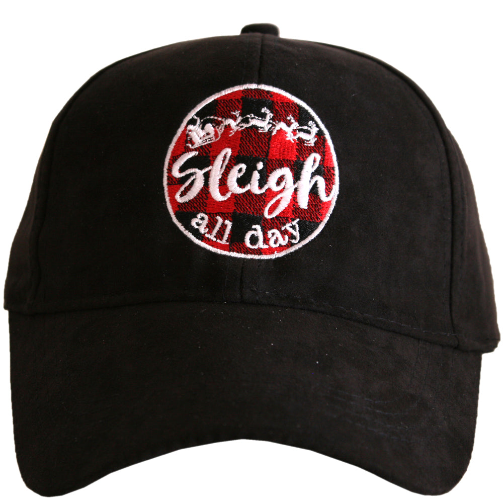 Katydid Sleigh All Day ULTRA SUEDE Wholesale Baseball Hat