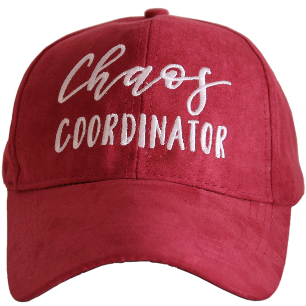 Chaos Coordinator ULTRA SUEDE Wholesale Baseball Hat