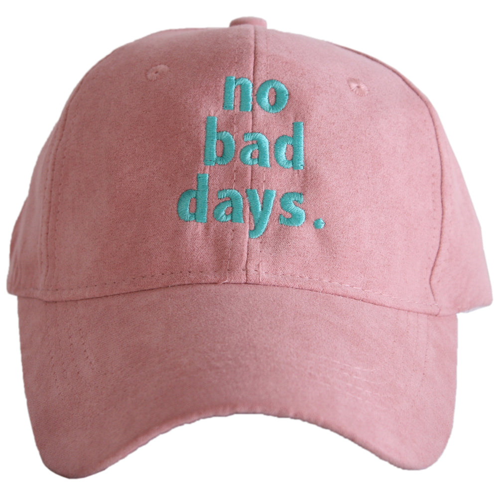 Katydid No Bad Days ULTRA SUEDE Wholesale Baseball Hats