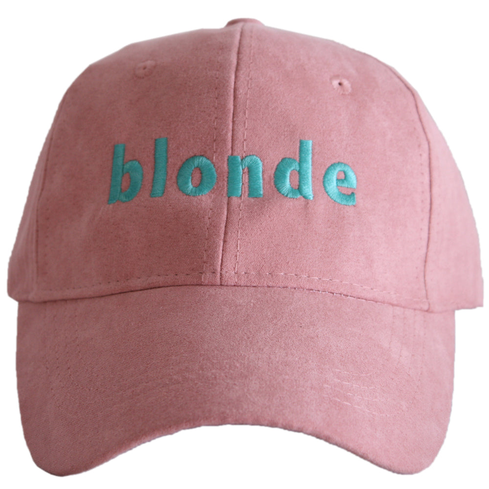 Katydid Blonde ULTRA SUEDE Wholesale Baseball Hats