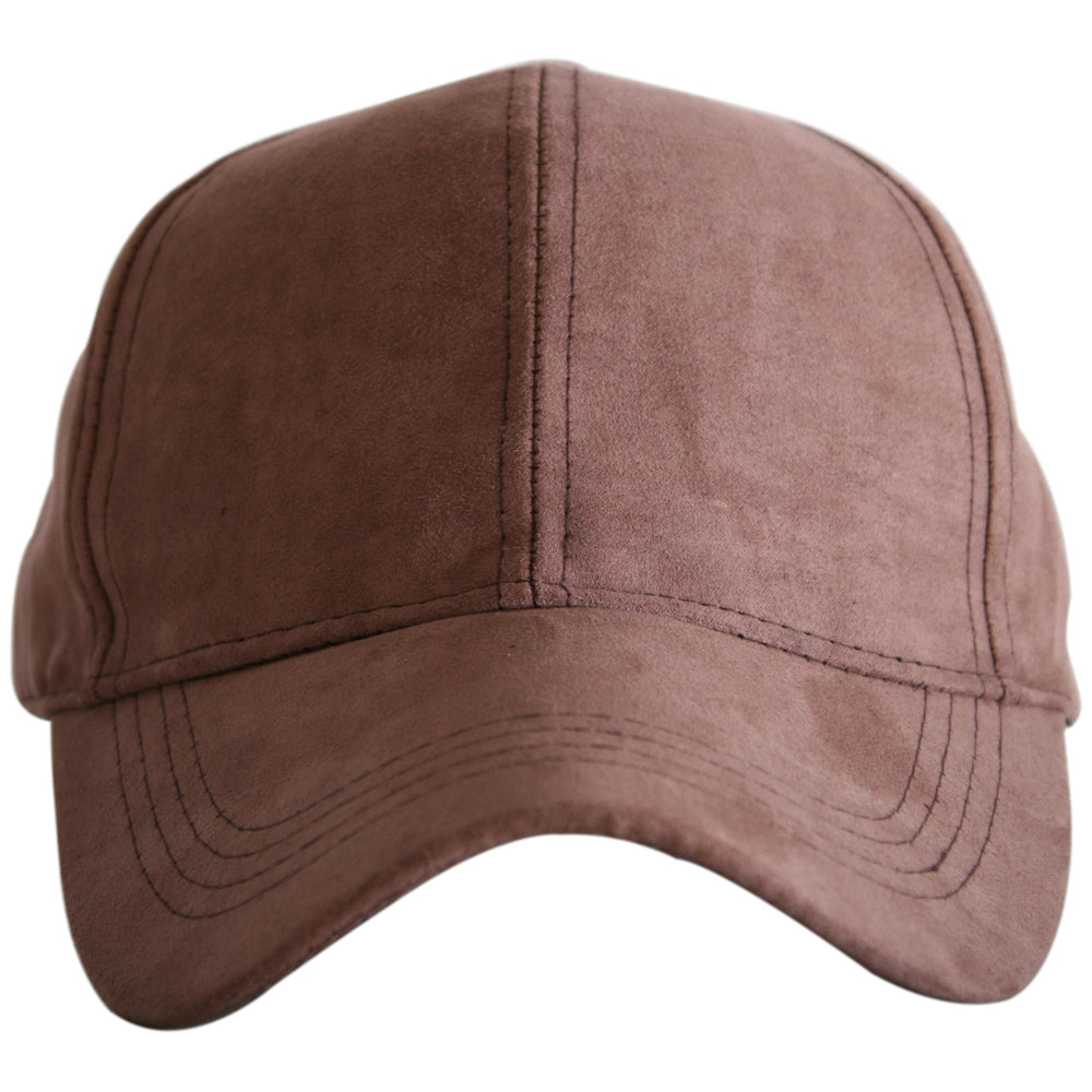 Wholesale Brown Suede Trucker Hat