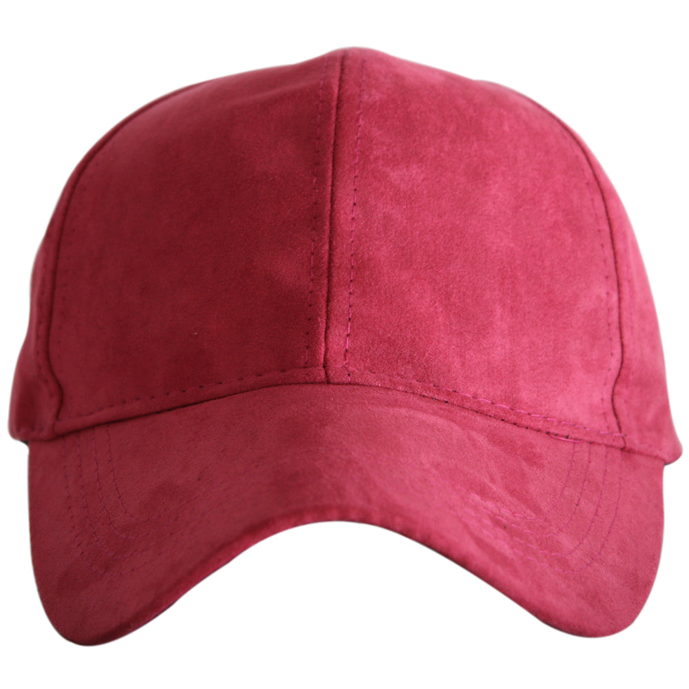 BLANK ULTRA SUEDE Wholesale Baseball Hat