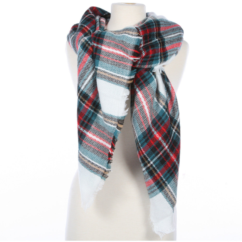 d2c856d458c5a Wholesale Blanket Scarves or Scarf in Plaid Prints ...