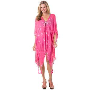 Hot Pink Wholesale Swimsuit Cover Ups