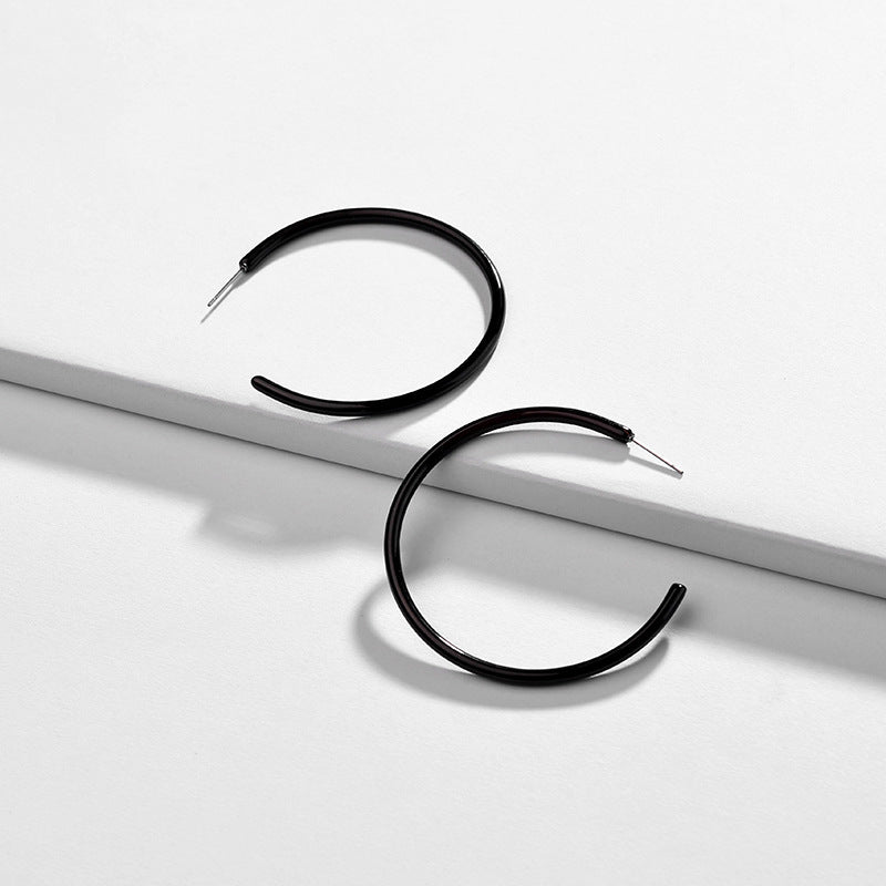 Katydid Wholesale Thin Acrylic Hoop Earrings