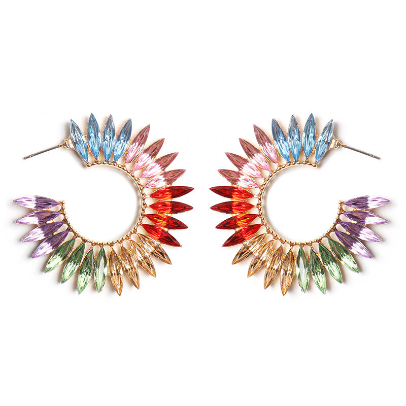 Katydid Wholesale Multicolor Crystal Earrings