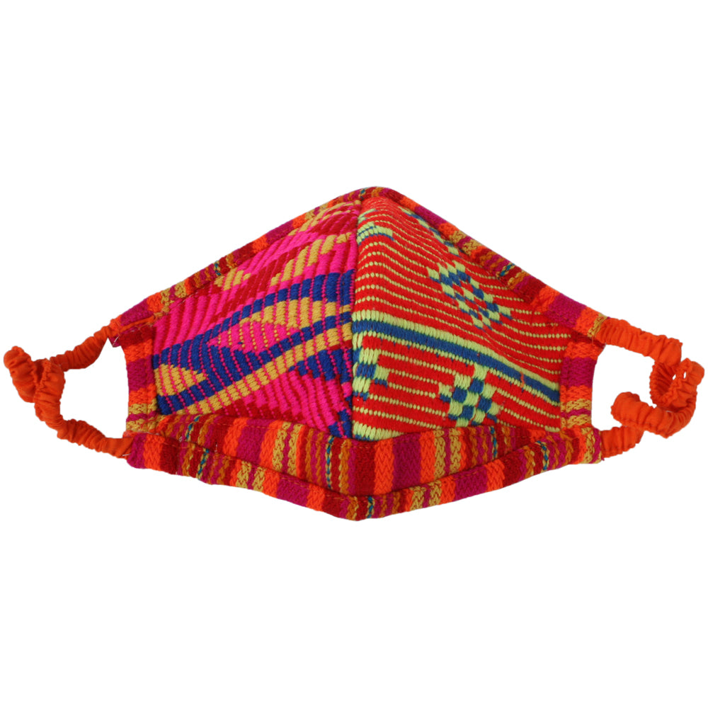 Red/Orange/Yellow Fabric Wholesale Face Masks