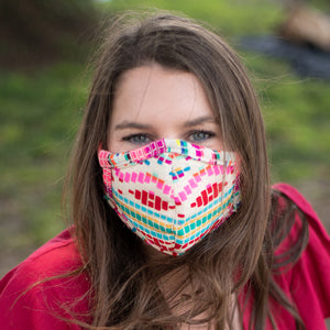 Pink Fabric Wholesale Face Masks
