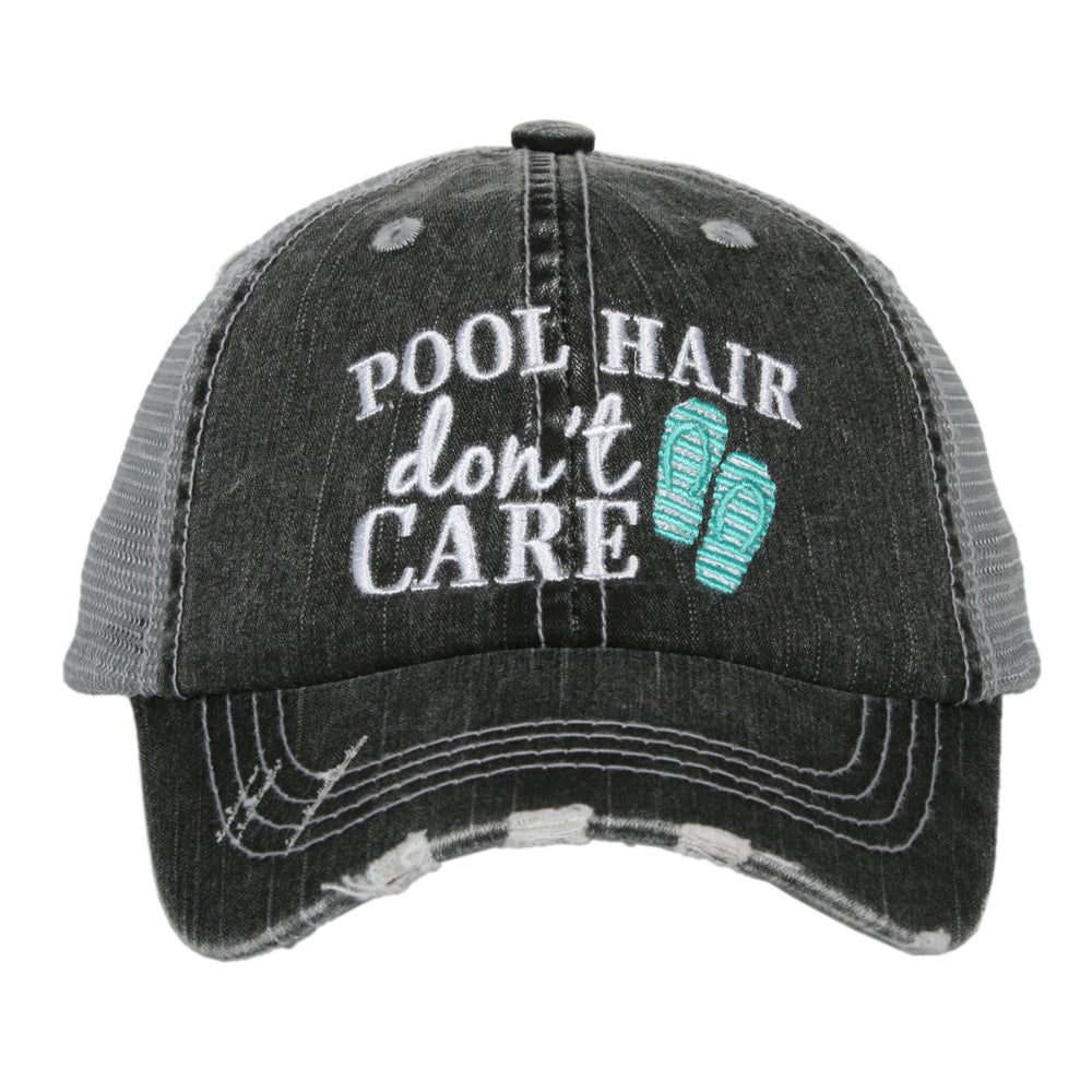 Katydid Pool Hair Don't Care Wholesale KIDS Hats