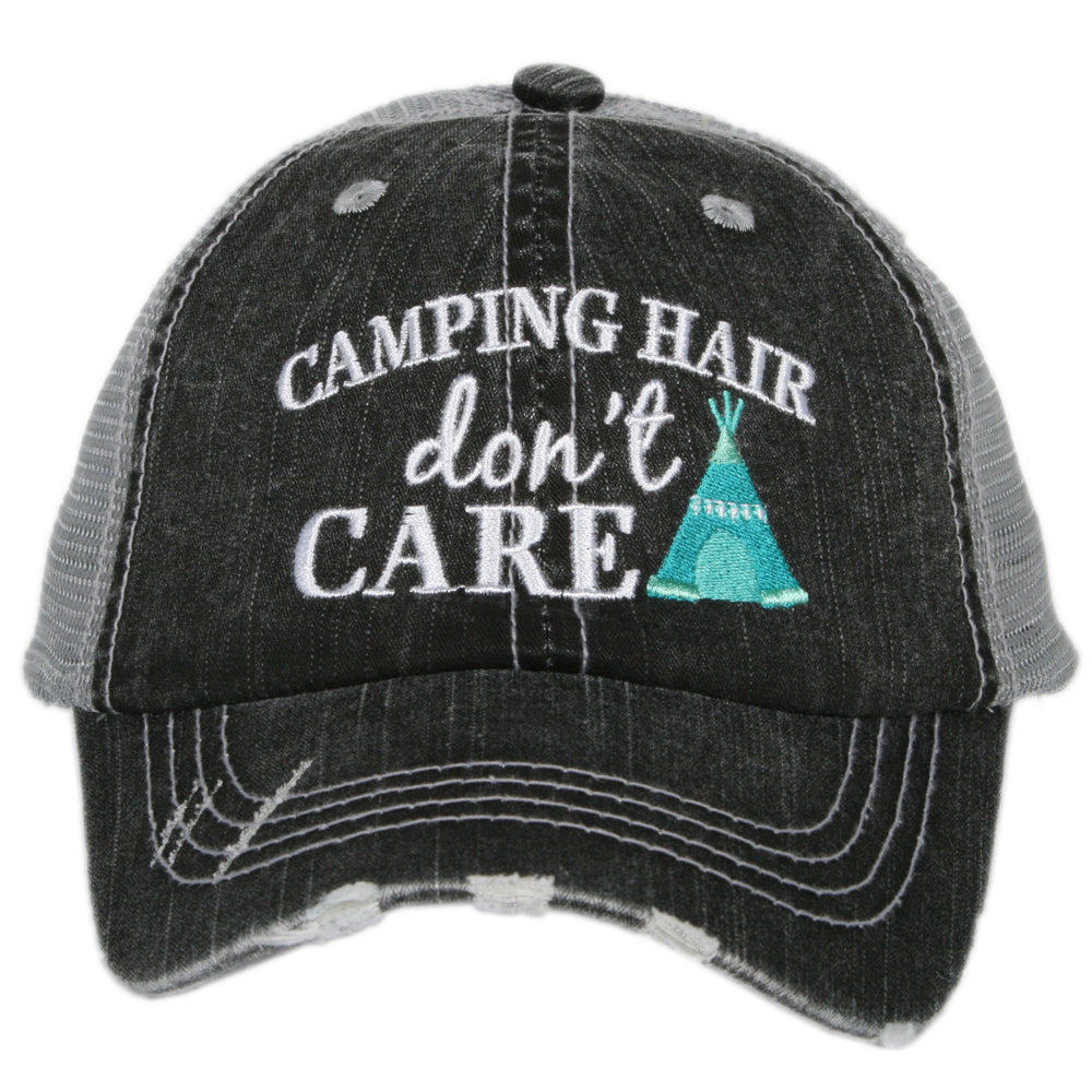 Katydid Camping Hair Don't Care Wholesale KIDS Hats