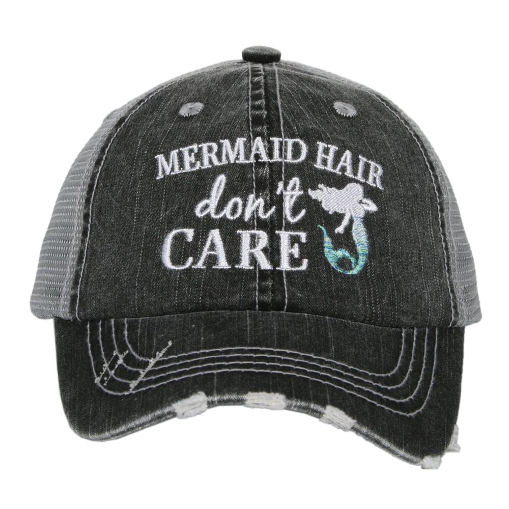 Katydid Mermaid Hair Don't Care Wholesale KIDS Hats