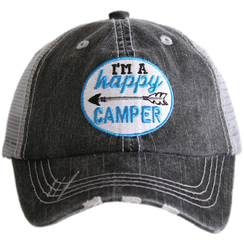 Katydid I'm A Happy Camper Patch Wholesale KIDS Hats